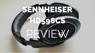 Download Review: Sennheiser HD598CS Closed Headphones (Compared to HD598 Open) Video