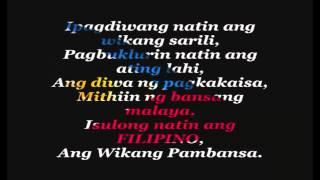 Download Ipadiwang Natin ang Wikang Sarili (edited by JULITOJr.) - Carol Banawa Video