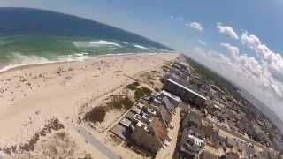 Download Drone crashes into beach kids at Seaside Park! Video