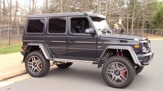 Download The Mercedes G550 4x4 Squared Is a $250,000 German Monster Truck Video