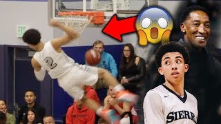 Download Scottie Pippen Jr, Cassius Stanley, KJ Martin Put on a DUNK CONTEST in GAME! SIERRA CANYON GOING OFF Video