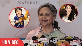 Download Sharmila Tagore Praise Sara Ali Khan and Cute Reaction on Taimur Ali Khan Video