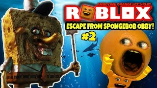 Download Roblox: ESCAPE SPONGEBOB OBBY #2 🍊 [Annoying Orange Plays] Video