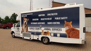 Download DuPage County Animal Service's New Vet Van Video