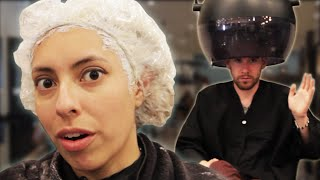 Download People Dye Their Hair Gray For The First Time Video