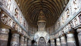 Download Ajanta Caves, Maharashtra, India in 4K Ultra HD Video