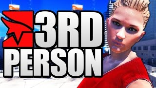 Download MIRROR'S EDGE IN THIRD PERSON? HILARIOUS GLITCHES! (Mirror's Edge 3rd Person) Video