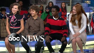 Download The cast of 'Stranger Things' dishes on the new season Video