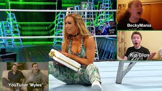Download Exclusive fan reactions to the first-ever Women's Money in the Bank Ladder Match (WWE Network) Video