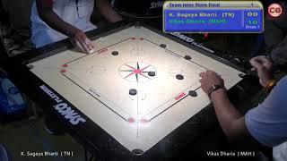 Download Inter State Final S1 K. Sagaya Bharti vs Vikas Dharia 46th Sr. National & Inter State Carrom Video