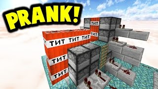 Download NOOB SWAPPED WITH PRO PRANK!! | Minecraft TNT WARS! Video