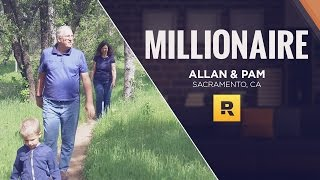 Download Millionaire - $3 Million Net Worth - Allan & Pam from Sacramento, CA Video