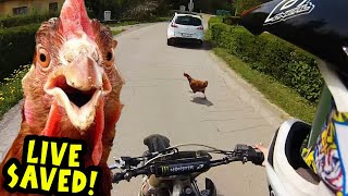 Download Angry Man Attack Dirt Biker with Tractor! Stupid People 2017 Video