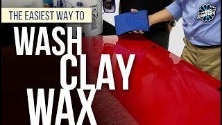 Download The Easiest Way To Wash + Clay + Wax | THE RAG COMPANY Video