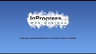 Download Moving a Joomla Website From One Online Location To Another Video