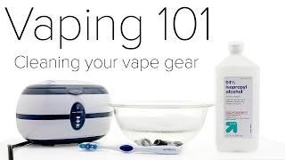 Download Vaping 101 : Cleaning Your Vape Gear Video