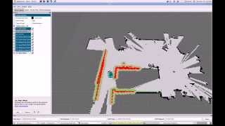 Demo for 2-D Lidar-based SLAM (Low-cost RPLidar) Free Download Video