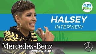 Download Halsey's Heartfelt Message to Her Fans | Elvis Duran Show Video