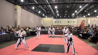 Download Amerikick Chalfont Blackbelt Demo Team AKI 2016 Video