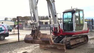Download 2010-TAKEUCHI TB175 7.5 TON EXCAVATOR Video