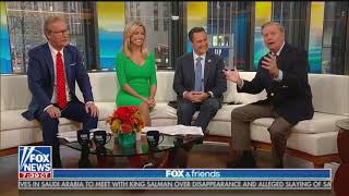 Download Lindsey Graham's remarkably casual anti-Iranian bigotry on 'Fox & Friends' Video