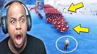 Download 1000 SANTA'S vs ZOMBIE | Ultimate Epic Battle Simulator Video