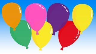 Download ″Pretty Balloons″ (balloon song for learning colors) Video