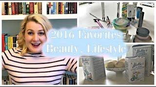 Download Beauty, Lifestyle Favorites 2016 | Honest Beauty, People Tree, Goldbergs, Fantastic Beasts Video