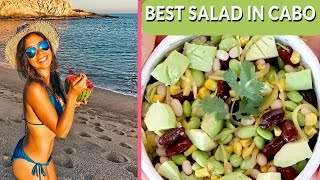 Download Vegan Protein Salad for Weight Loss in Cabo! Healthy & Easy Recipe Video