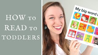 Download How to Get Toddlers to Sit and Read with You: Tips from a Speech Therapist Video