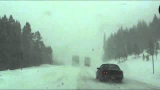 Download COLORADO ROCKY MOUNTAIN SNOW STORM INTERSTATE 70 ROCKIES DENVER Video