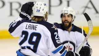 Download Laine scores twice to lead Jets past Blues for 5th straight win Video