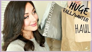 Download HUGE FALL/WINTER COLLECTIVE HAUL: SENTALER, NORDSTROM, HOLLISTER Video