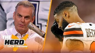 Download OBJ's production will not correlate to wins for Browns, Colin talks Dak contract | NFL | THE HERD Video