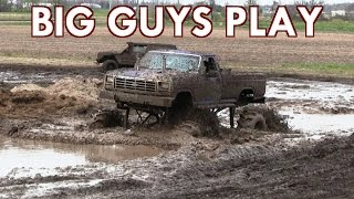 Download Big Purple Ford Mega Truck At Carsonville Tribute 2017 Mud Bog Video