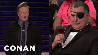 Download The World's Most Accomplished Traveler Challenges Conan - CONAN on TBS Video