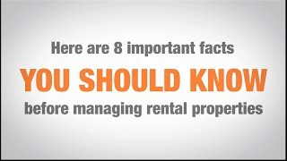 Download Real Estate Property Management 101: 8 important facts Video