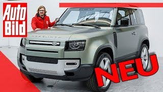 Download Land Rover Defender (2020): Auto - neu - Offroad-Ikone - 4x4 Video