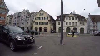 Download STREET VIEW: Rorschach am Bodensee in SWITZERLAND Video
