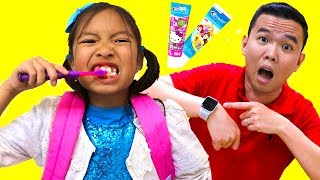 Download Put On Your Shoes Song Wendy Pretend Play Morning Routine Brush Teeth Nursery Rhymes Kids Songs Video