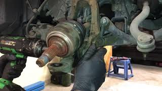 Download Step by Step: How to Replace Axle Shafts Video