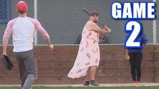 Download BETSY HITS FOUR HOME RUNS! | On-Season Softball League | Game 2 Video