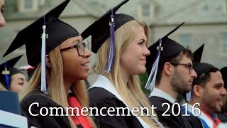 Download Connecticut College Commencement 2016 Highlights Video
