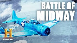Download Battle of Midway Tactical Overview – World War II   History Video