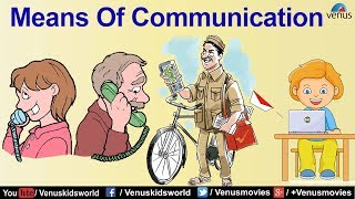 Download World Of Knowledge ~ Means Of Communication | Pre School Learning and Kids Education Video