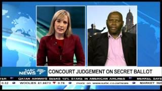 Download ConCourt's #SecretBallot judgement historic: Somadoda Fikeni Video