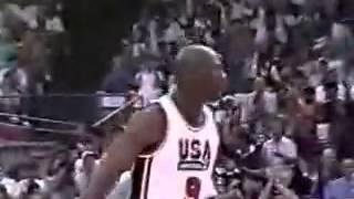 Download USA vs Cuba 1992 - Dream Team`s first official game Video