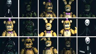 Dormitabis ALL ANIMATRONICS & ALL JUMPSCARES!! (2018) Free