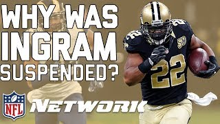 Download Why Was Mark Ingram Suspended & How Will this Impact the Saints? | NFL Network Video
