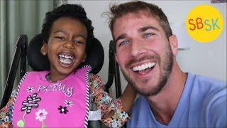 Download Unable to Walk or Talk But Always Laughing (Cerebral Palsy) Video